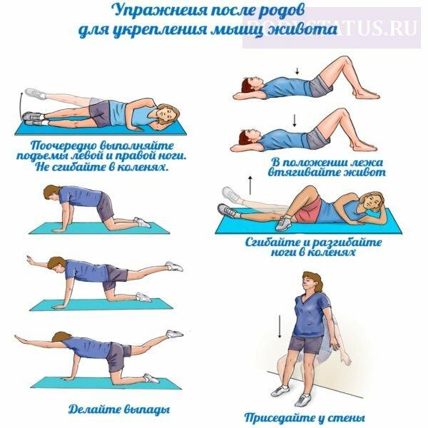 Как убрать живот упражнениями в домашних условиях 7 упражнений для плоского живота