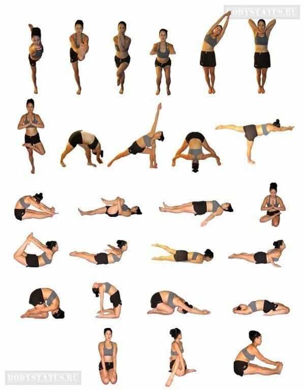 Пилатес для ног и ягодиц - техника выполнения упражнений