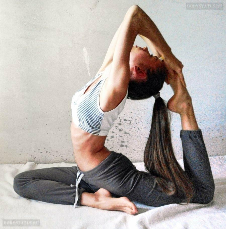 Стретчинг - упражнение для начинающих