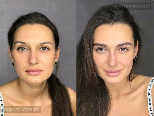 Пудровое напыление бровей: фото до и после, техника, цена, эффект, уход, сколько держится и кому подходит