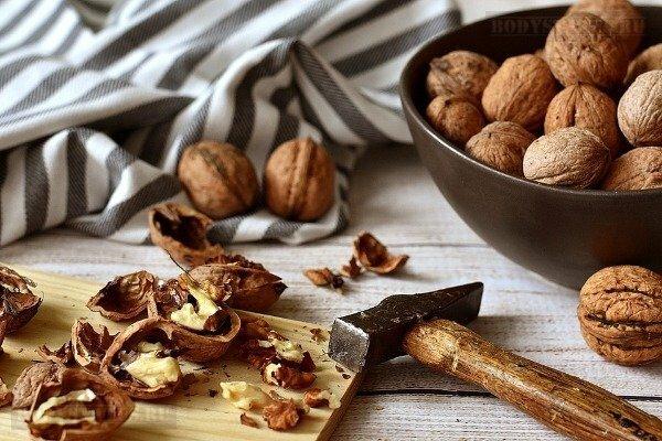 Белок в грецких орехах