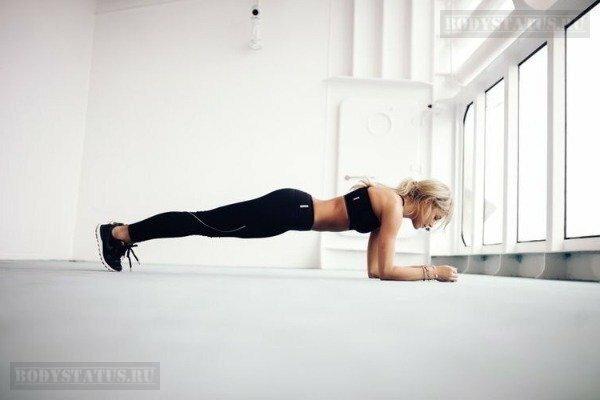 Какая польза от упражнения планка?